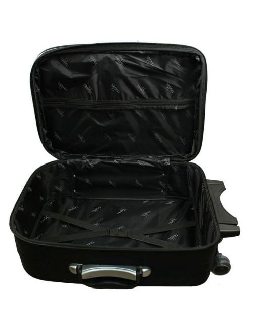 Mała walizka podróżna kabinowa na kółkach 301 L - pojemna komora wewnętrzna