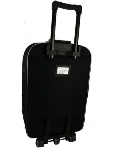 Duża walizka podróżna na kółkach 301 XXL - etykieta adresowa znajdująca się na plecach walizki