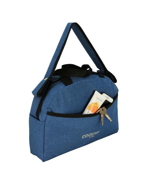 Uniwersalna torba na wózek dziecięcy model 01 pasek na ramię -  kieszonka