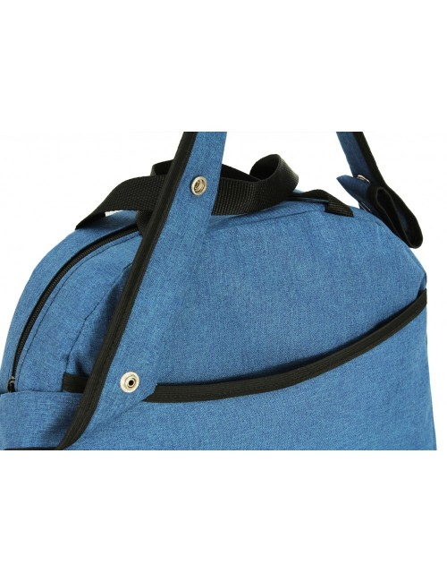 Uniwersalna torba na wózek dziecięcy model 01 pasek na ramię -  tył