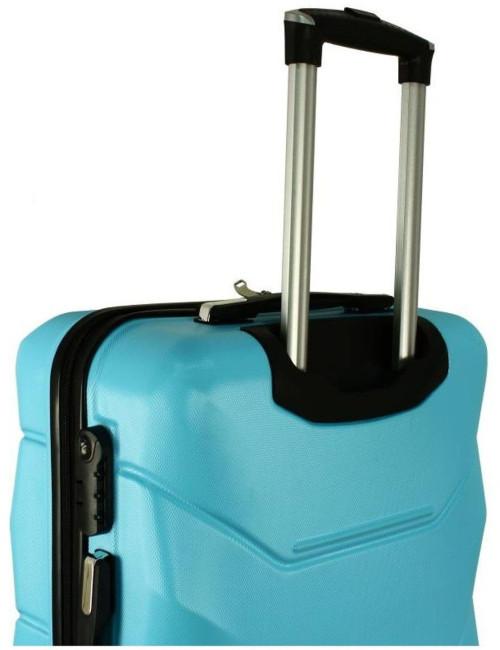 Mała walizka podróżna kabinowa na kółkach 720 M - wysuwana rączka teleskopowa