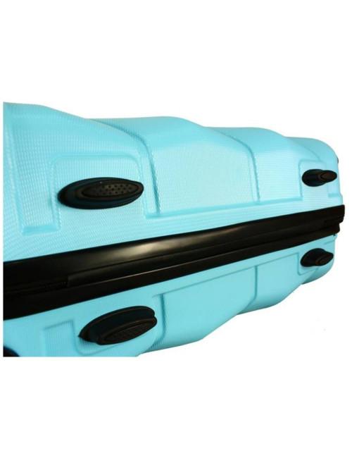 Mała walizka podróżna kabinowa na kółkach 720 M - stopki stabilizacyjne ochronne