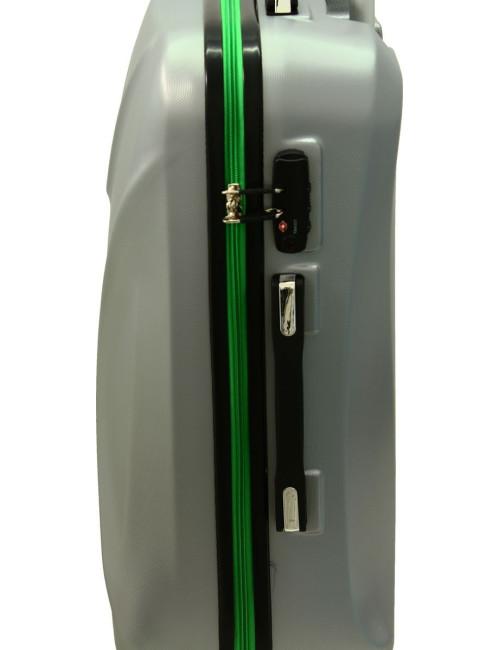 Duża walizka podróżna na kółkach 750 XXL Zamek TSA - wygodny uchwyt boczny