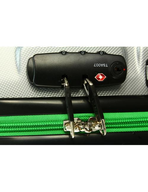 Mała walizka podróżna 750 L zamek TSA - zamek szyfrowy