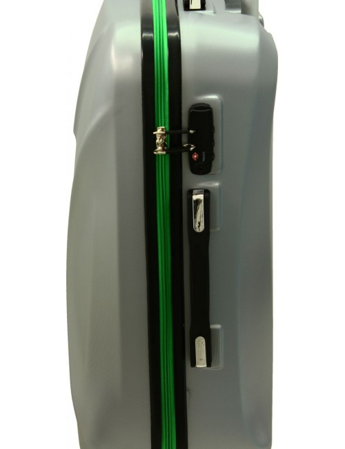 Mała walizka podróżna 750 L zamek TSA - podwójny zamek