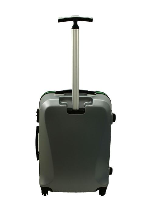 Mała walizka podróżna 750 L zamek TSA - tył