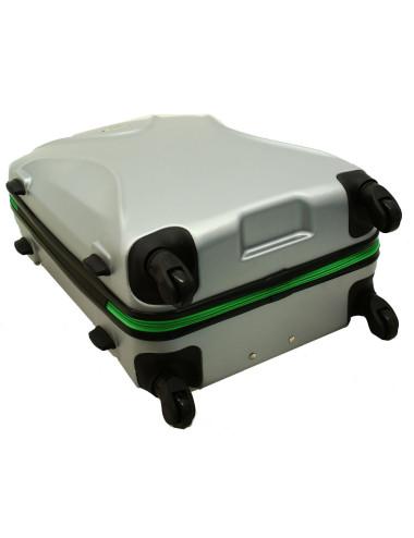 Mała walizka podróżna 750 L zamek TSA - 4 obrotowe kółeczka
