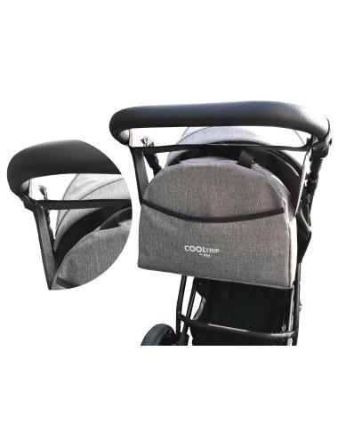 Uniwersalna torba na wózek dziecięcy model 01 pasek na ramię - na wózku
