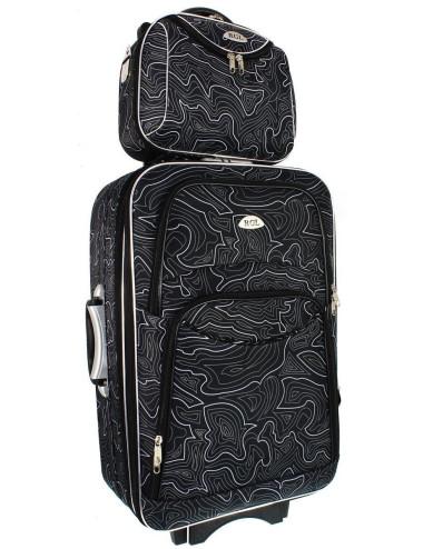 Średni kuferek podróżny kosmetyczka 773 XL - solidne wykonanie