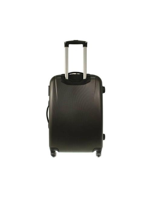 Zestaw walizek podróżnych 3w1 910 (XXL XL L) + kuferek L - Tył Walizki