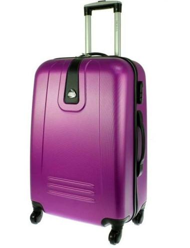 Mała  walizka podróżna 910 M - Fioletowa