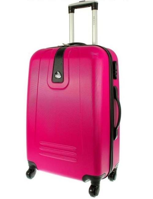Mała  walizka podróżna 910 M - Różowa