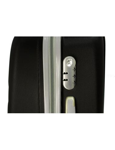 Mała walizka podróżna na kółkach 883 RGL 55x40x20 - zamek szyfrowy