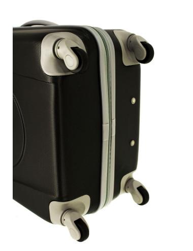 Mała walizka podróżna na kółkach 883 RGL 55x40x20 - obrotowe kółka