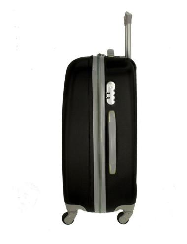Mała walizka podróżna na kółkach 883 RGL 55x40x20 - bok