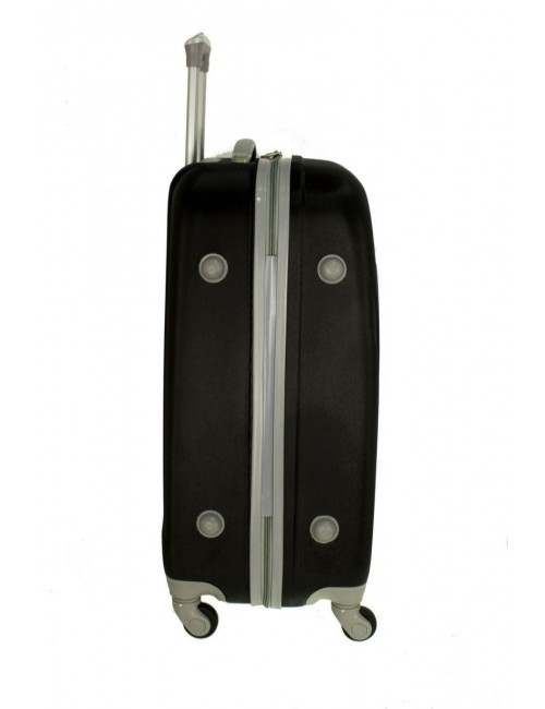Mała walizka podróżna na kółkach 883 RGL 55x40x20 - stopki zabezpieczające