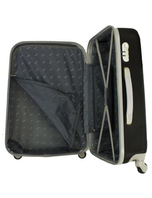 Duża walizka podróżna na kółkach 883 RGL - wnętrze