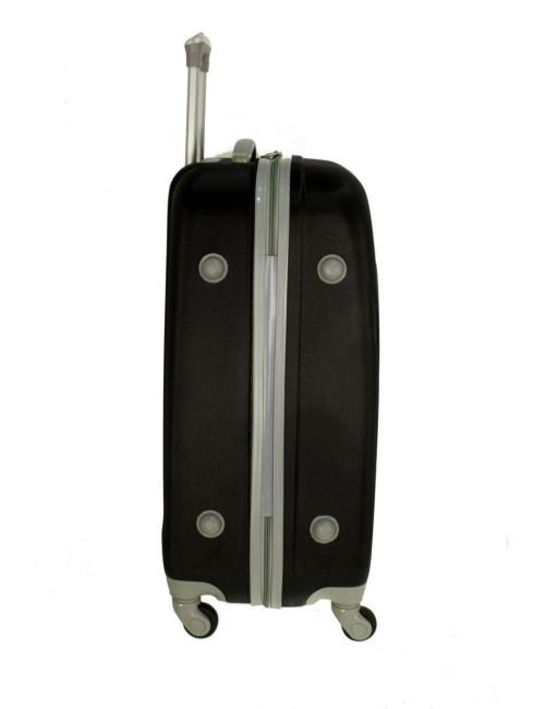 Duża walizka podróżna na kółkach 883 RGL - stopki zabezpieczające