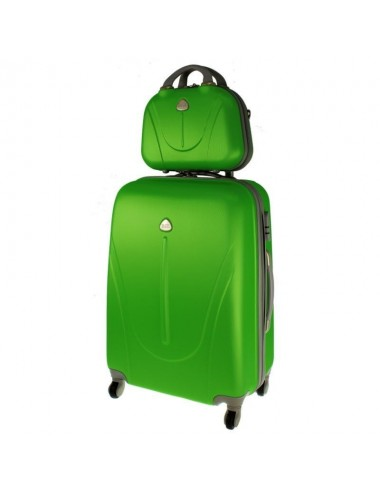 Walizka XL + kuferek XL 883 - zielony