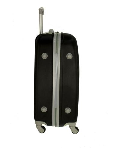 Walizka średnia  podróżna 883 XL - stopki zabezpieczające