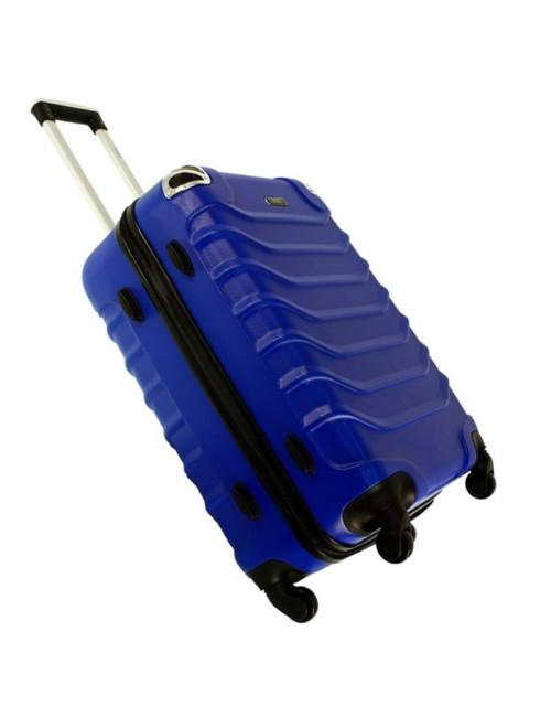 730 Duża Mocna Walizka Podróżna XXL ABS RGL - stopki stabilizacyjne z boku walizki