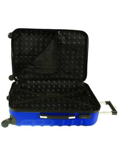 730 3w1 Mocne Walizki Podróżne ABS RGL - dwie komory walizki