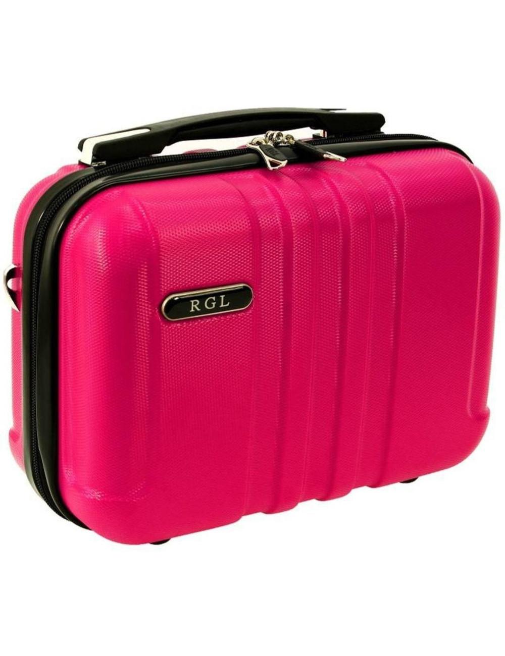 Średni kuferek kosmetyczka 740 XL - różowy