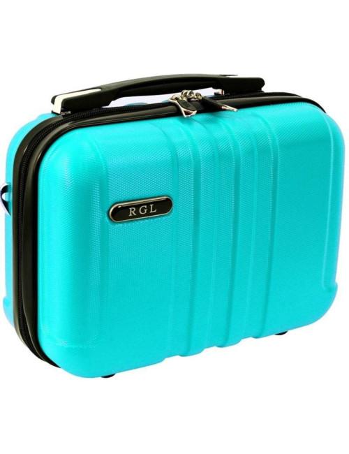 Średni kuferek kosmetyczka 740 XL - lazurowy