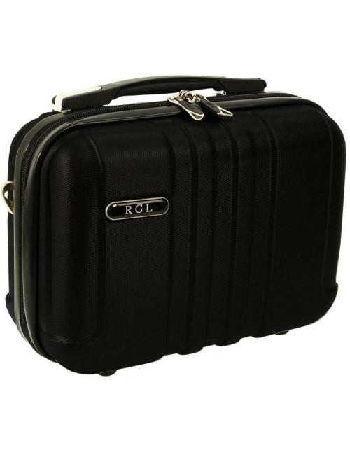 Mały kuferek kosmetyczka 740 L - czarny