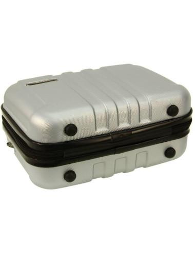 Zestaw walizek podróżnych 3w1 + Kuferek 740 RGL - stopki kuferka