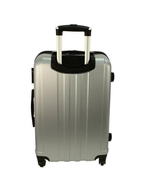 Zestaw walizek podróżnych 3w1 + Kuferek 740 RGL - wysuwany teleskopowy uchwyt
