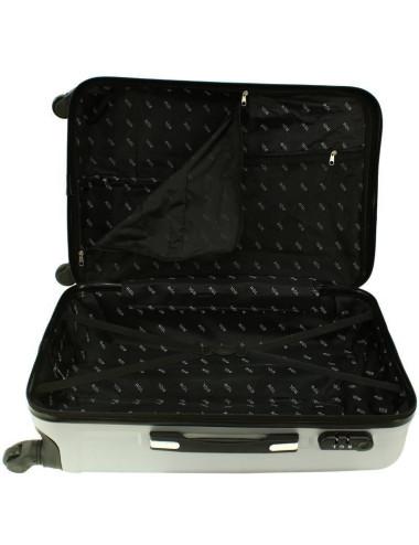 Zestaw walizek podróżnych 3w1 + Kuferek 740 RGL - dwie komory