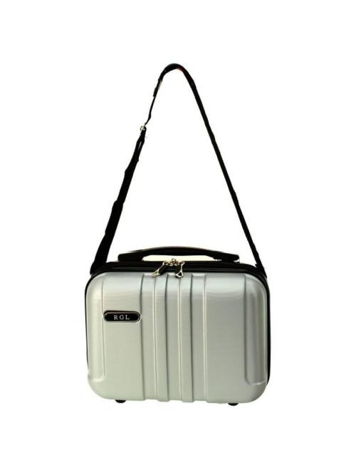 Zestaw walizek podróżnych 3w1 + Kuferek 740 RGL - pas do noszenia kuferka na ramieniu