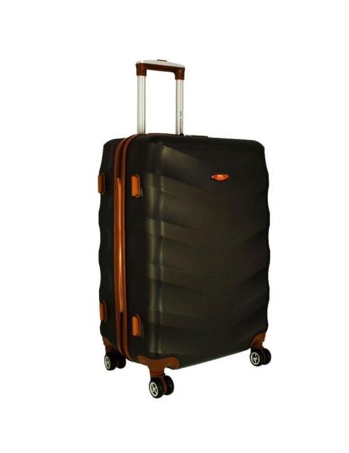 Średnia walizka podróżna XL 6881 RGL Exclusive - grafitowy