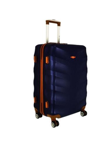 Średnia walizka podróżna XL 6881 RGL Exclusive - granatowy