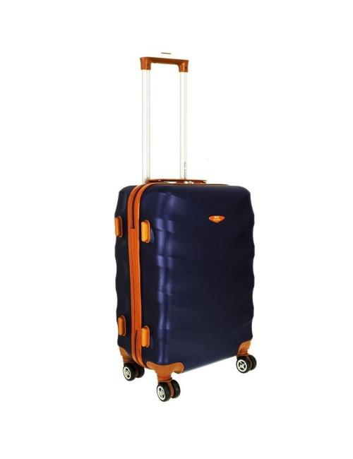 Mała walizka podróżna L 6881 RGL Exclusive - granat