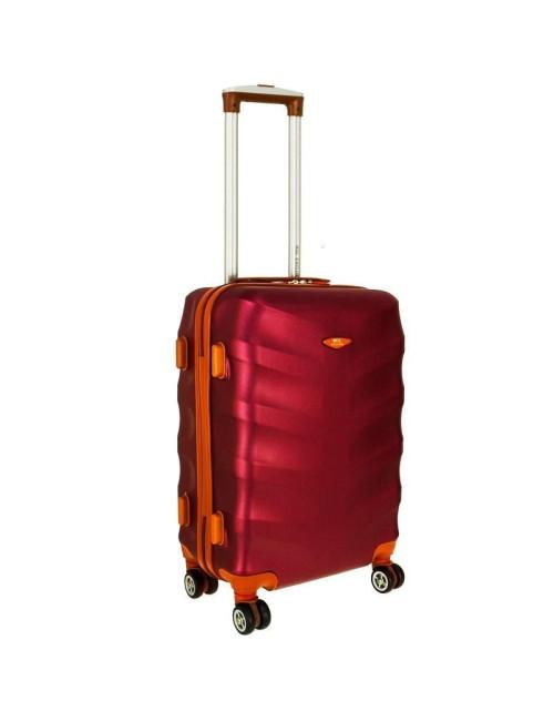 Mała walizka podróżna L 6881 RGL Exclusive - wino