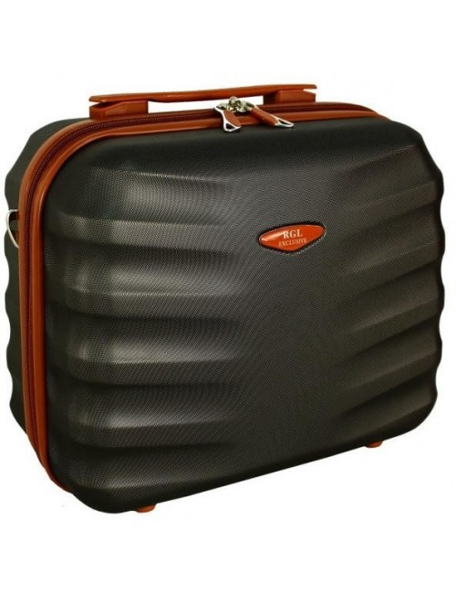 6881 RGL Średni Kuferek podróżny Carbon - grafitowy
