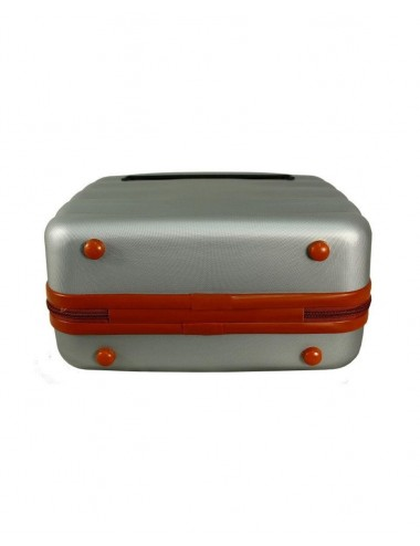 6881 RGL Średni Kuferek podróżny Carbon - stopki ochronne kuferka