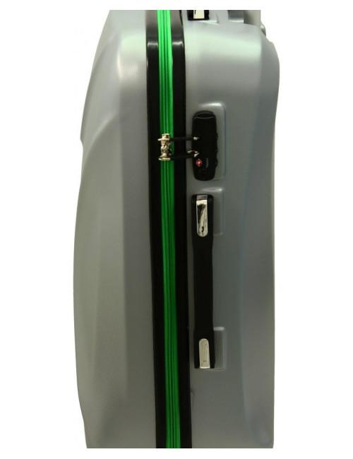 Zestaw walizek podróżnych 3w1 750 XXL XL L - uchwyt boczny