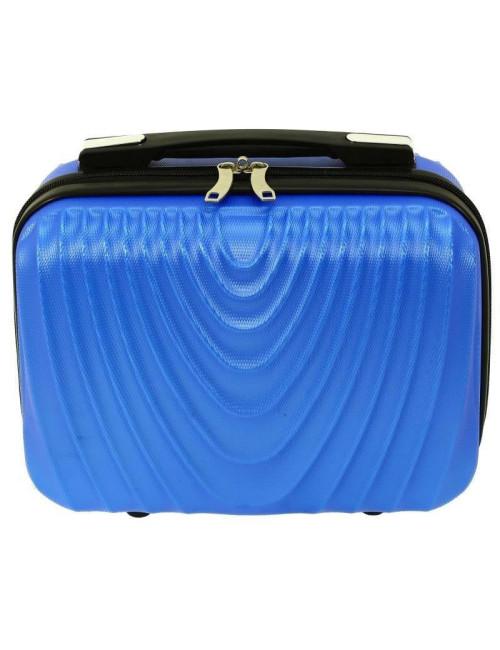 Średni kuferek kosmetyczka podróżna 663 XL RGL - przód