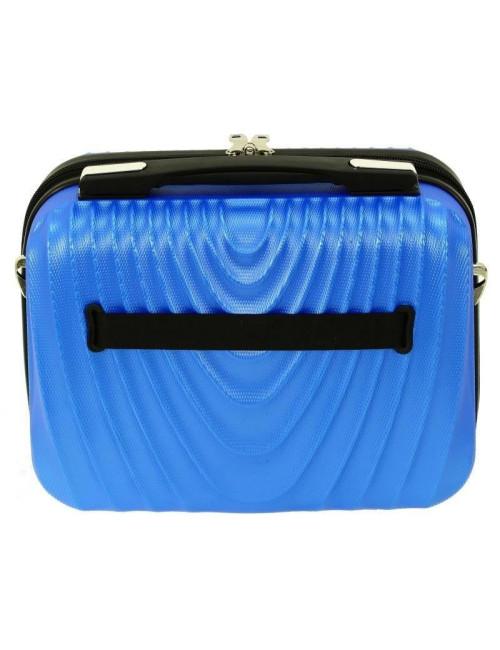 Średni kuferek kosmetyczka podróżna 663 XL RGL - tył