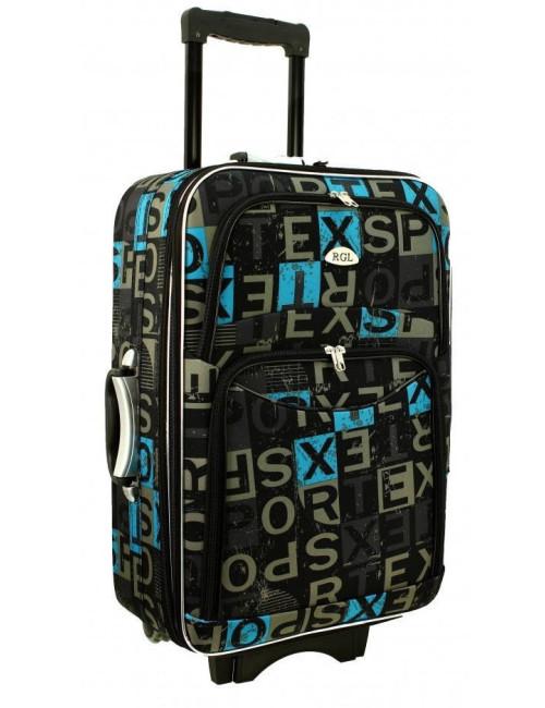 Mała walizka podróżna na kółkach 773 M - kolor 12